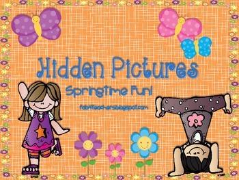 Hidden Pictures...For Springtime Fun