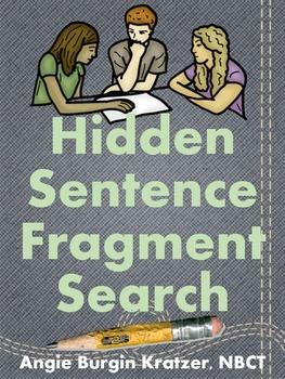 Hidden Sentence Fragment Search