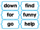 Hidden Snowflake Sight Word Game FREEBIE