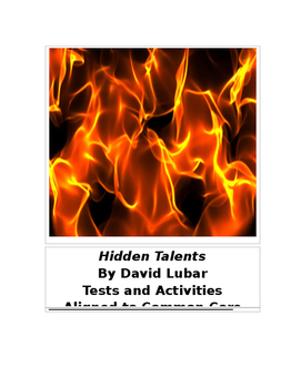 Hidden Talents by David Lubar Tests and Activities