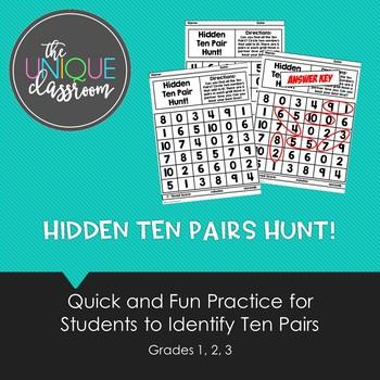 Hidden Ten Pair Hunt!