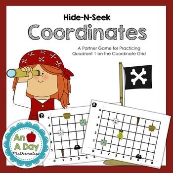 Hide-N-Seek Coordinate Grids: A Battleship Style Partner G