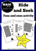 Hide and Seek - Tens and ones activity