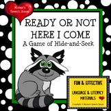Hide-n-Seek Forest Animals Raccoon