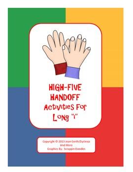 "High-Five Handoff - Activities for Long ""i"""