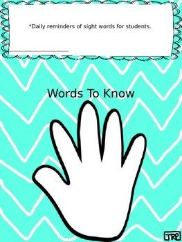 High Five Sight Words-3rd Grade
