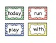 High Frequency Sight Word Cards