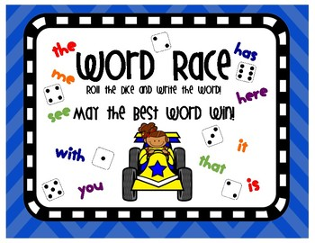 High Frequency Sight Word Recognition, Spelling & Writing