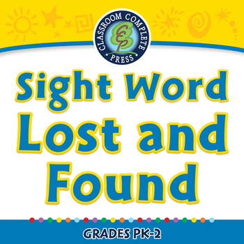 High Frequency Sight Words: Sight Word Lost and Found - PC