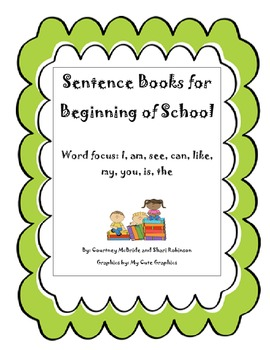 High Frequency Word Sentence Books