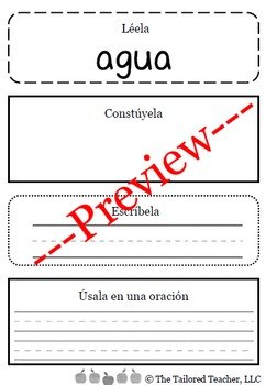 High Frequency Words Center: Read it, Build it, Write it,
