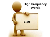 High Frequency Words Set #1 PPT- FREE!