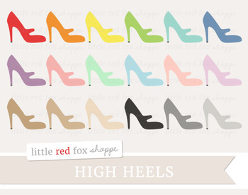 High Heel Clipart; Shoes, Stiletto