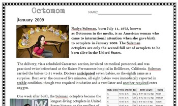 High Interest, Common Core Articles with Questions & Writi