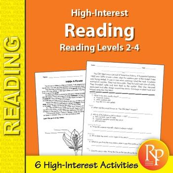 High-Interest Reading Sample Set