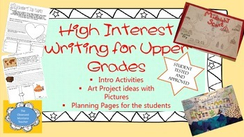 Writing For Upper Elementary