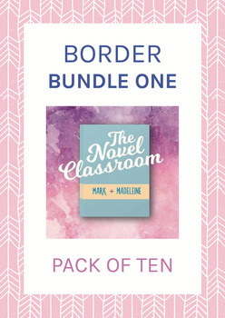 High Quality Border Bundle #1 - 10 Pack of Borders