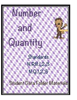 High School Algebra - Number and Quantity Standards Studen