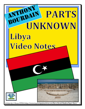 High School: Anthony Bourdain:Parts Unknown-Libya Video Gu