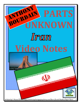 High School: Anthony Bourdain:Parts Unknown - Iran Video G