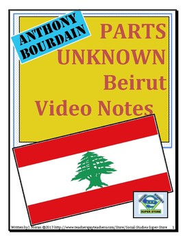 High School-Anthony Bourdain in Beirut Video Guide and TON