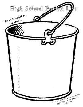 High School Bucket List