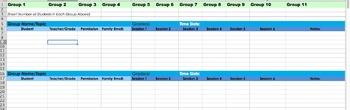 High School Counselor Data Tracker (1 Grade Level)