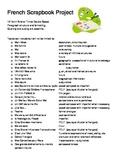 High School French Project Portfolio Organization Chart