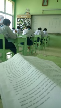 High School Grade 12 Upper Intermediate ESL English Exam F