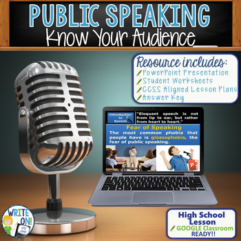 PUBLIC SPEAKING, DEBATE, AND SPEECH - KNOW YOUR AUDIENCE -