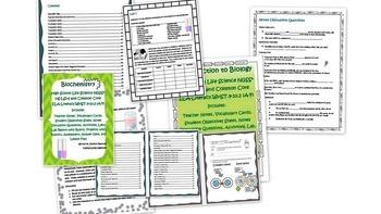 High School Life Science Biology-Intro and Biochem Bundle