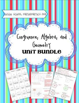 High School Math 1: Geometric Properties and Algebra