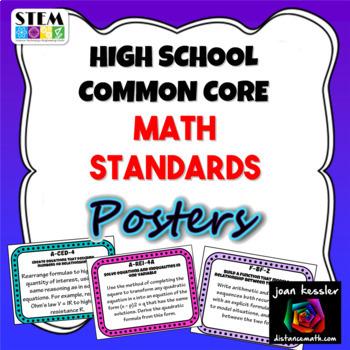 Common Core - High School Mathematics Common Core Standard
