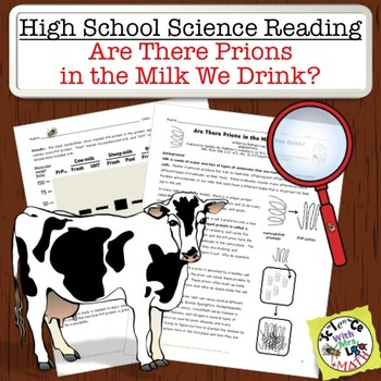 High School Science Reading: Are there Prions in our Milk?
