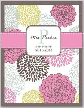 High School Teacher Planner:  2015-2016