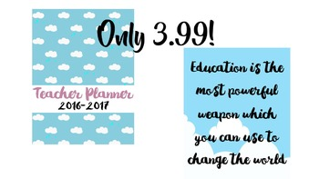 High School Teacher Planner  [over 220 pages!]