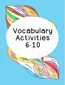 High School Vocabulary Critical Thinking PDF Printables Nu