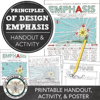 High School and Middle School Art: Principles of Design Em