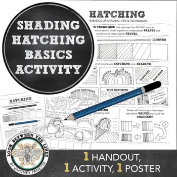 High School or Middle School Visual Art: Shading Basics, H