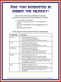 High Schooler's Guide to Joining the Military
