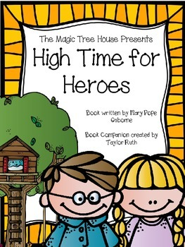 High Time for Heroes Book Companion (A Merlin Mission)