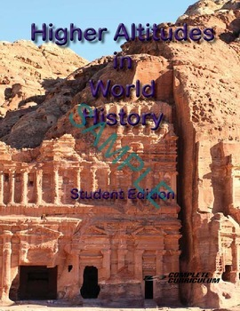 Higher Altitudes in World History and Geography - Teacher'