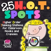 Higher Order Thinking Stations: H.O.T. Spots