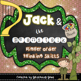 Higher Order Thinking Skills - task cards {Jack and the Be