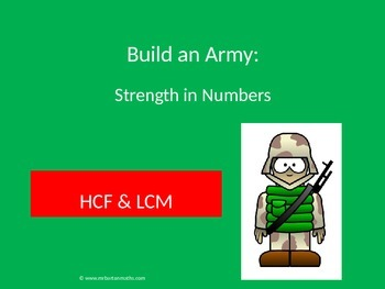 Highest Common Divisor & Lowest Common Multiple: Build an Army