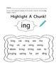 Highlight A Chunk Activity Set