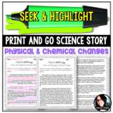 Seek & Highlight: Physical and Chemical Changes Science Ma