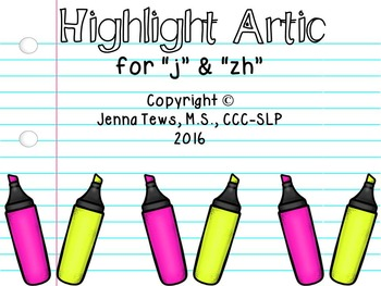 "Highlight Artic for ""j"" and ""zh"""