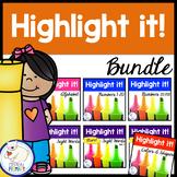 Highlight it!: Bundle