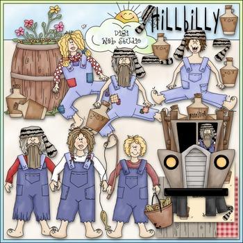 Hillbilly Family Clip Art - Hillbilly Clip Art - Redneck -